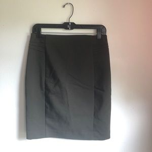 Express Olive Pencil Skirt